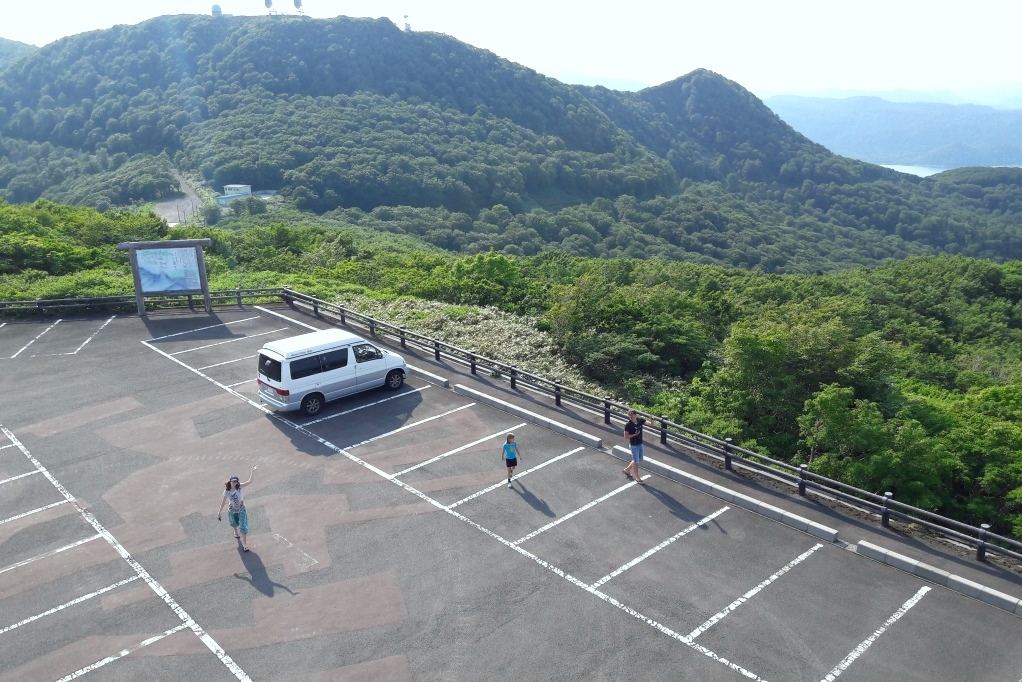 Campervan Route Tohoku Japan Shimokita
