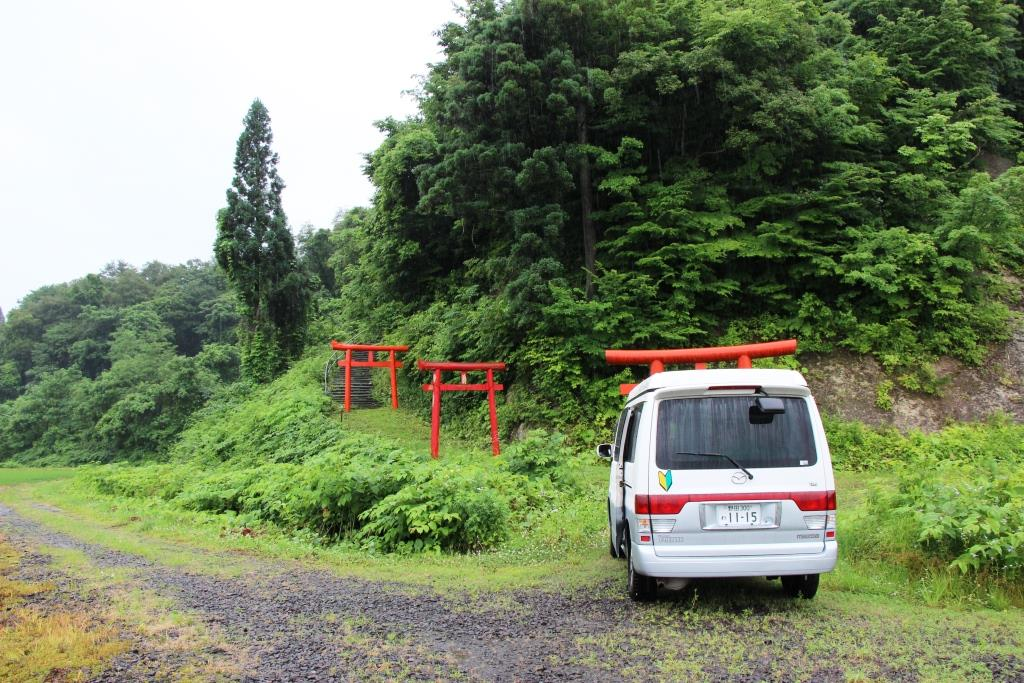 Japan-Roadtrip Tohoku per Campervan