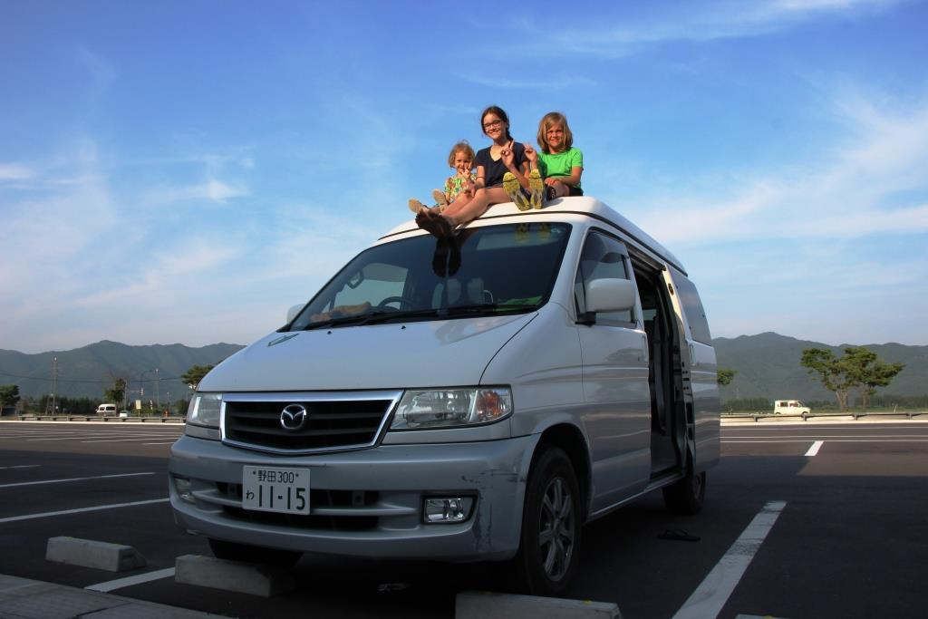 Japan Reiseroute durch Tohoku im Campervan