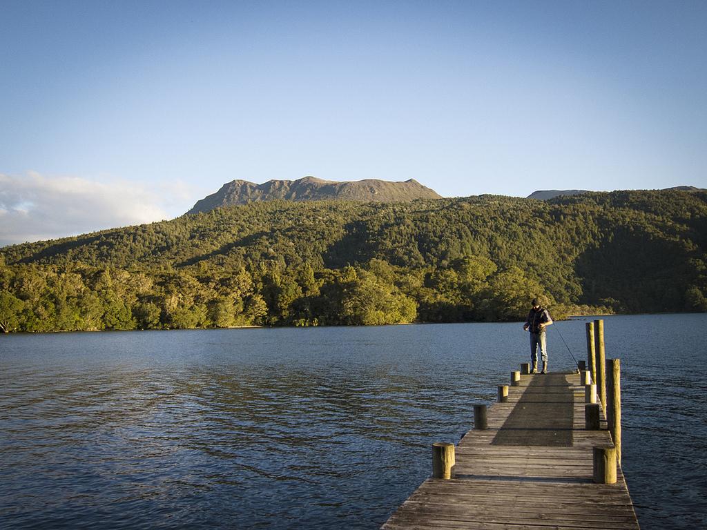 mount tarawera Vulkane in Neuseeland