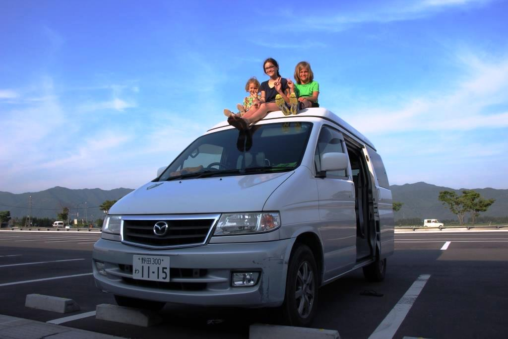 Campervan fahren in Japan