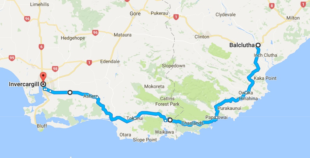 Neuseeland Roadtrip Catlins Southern Scenic Route