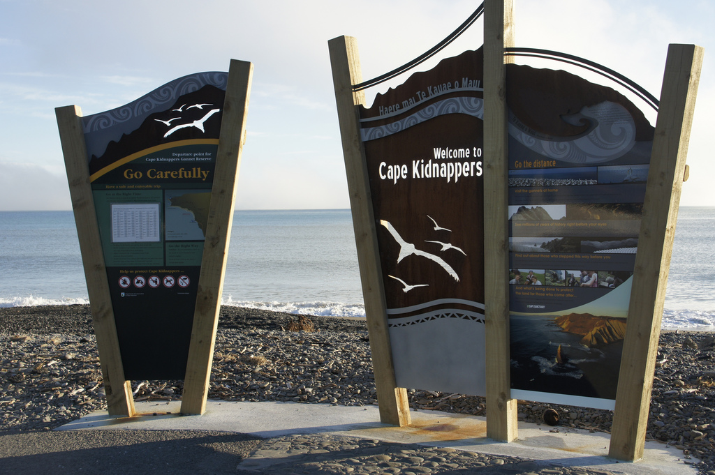 Besten Wanderwege in Neuseeland Cape Kidnappers Hawkes Bay
