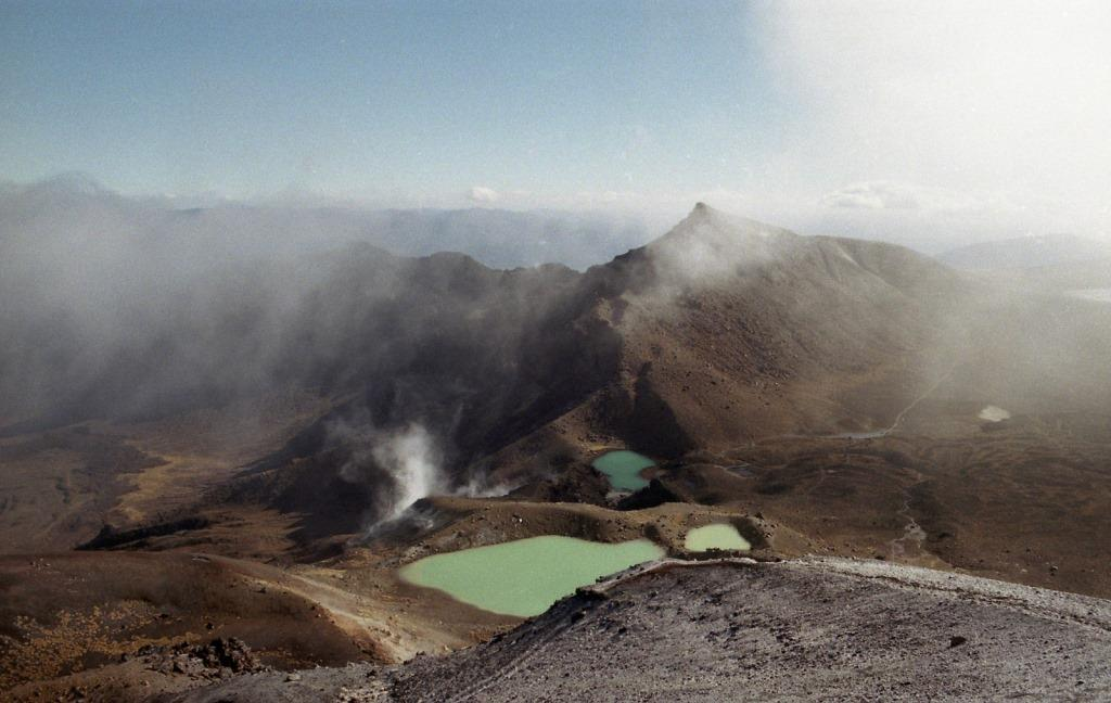 Besten Wanderwege in Neuseeland Tongariro Alpine Crossing
