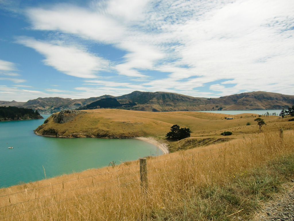 Banks Peninsula Bay Neuseeland