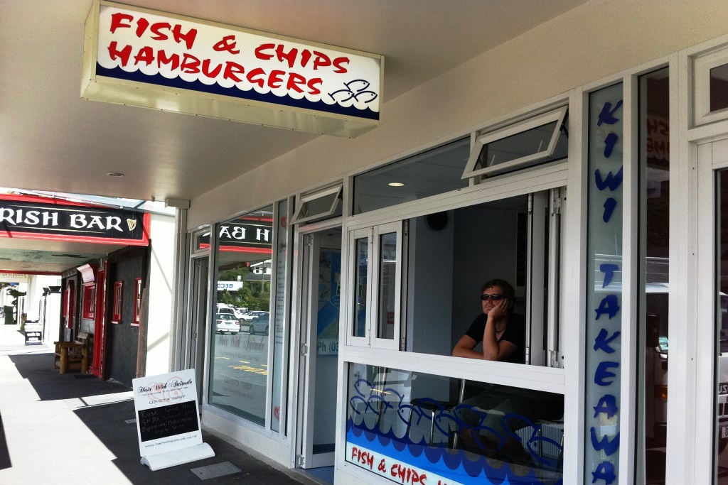 Fish and Chips Take-away Neuseeland