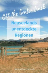 Neuseeland off the beaten track