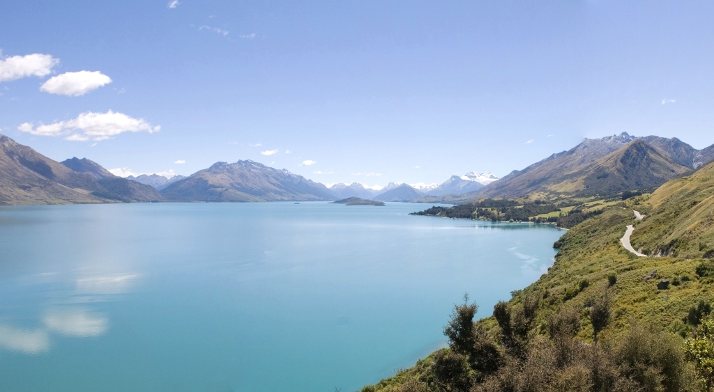 Neuseeland zu teuer Lake Wakatipu Queenstown Panorama