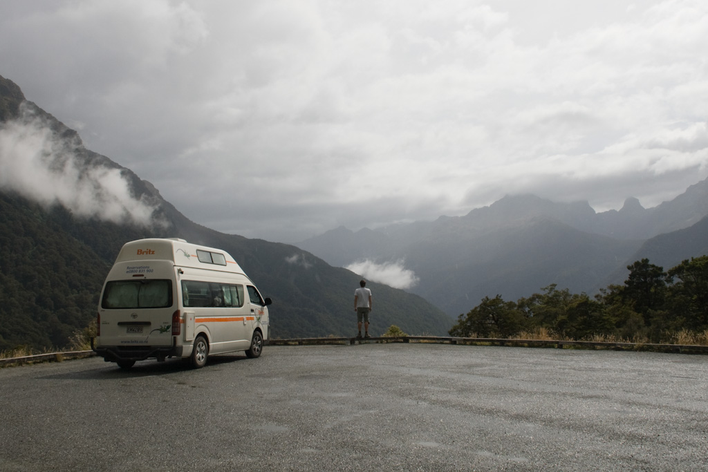 Roadtrip Neuseeland Milford Sound Campervan Fails