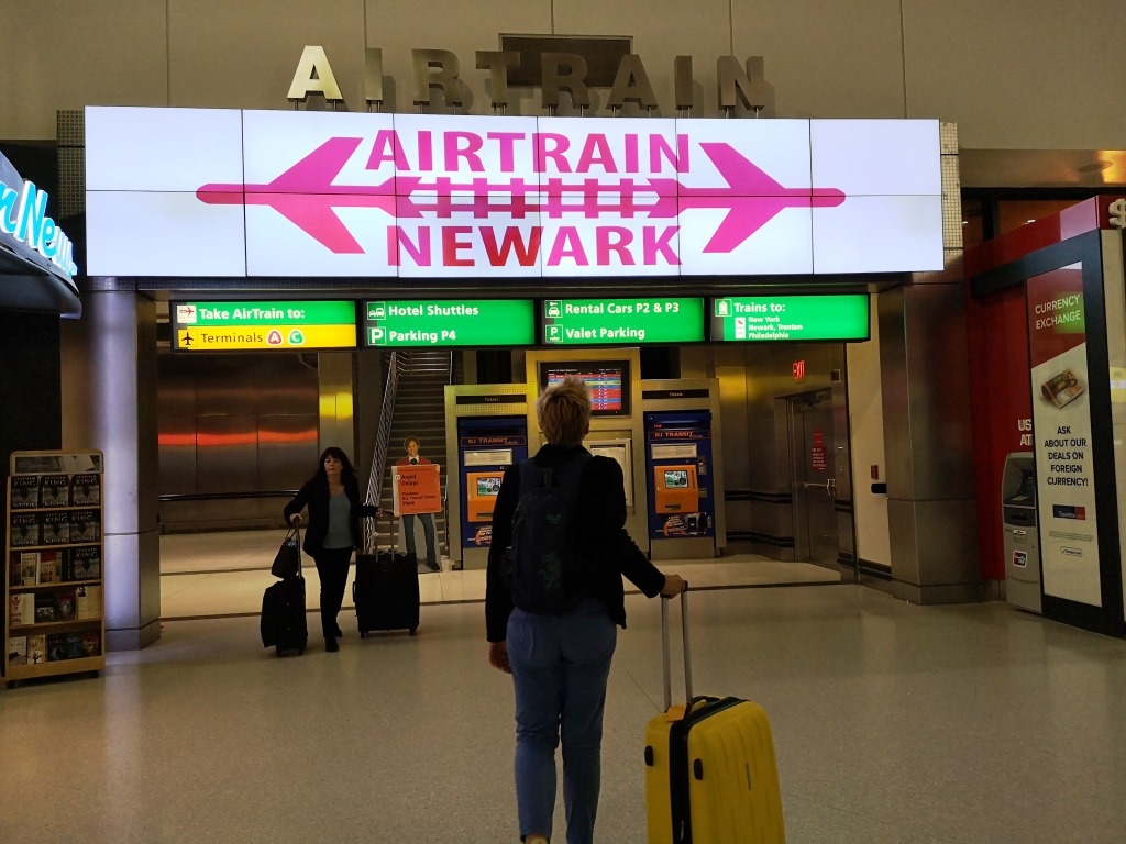 New York Newark Airport Airtrain