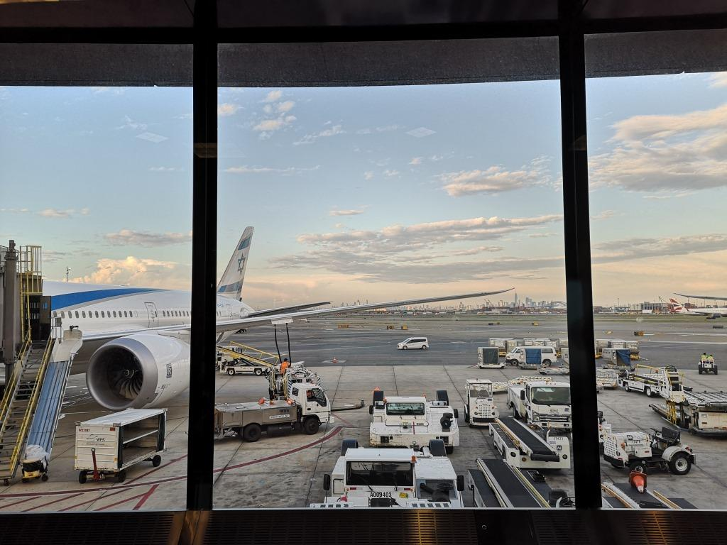 Airport Newark Manhattan View