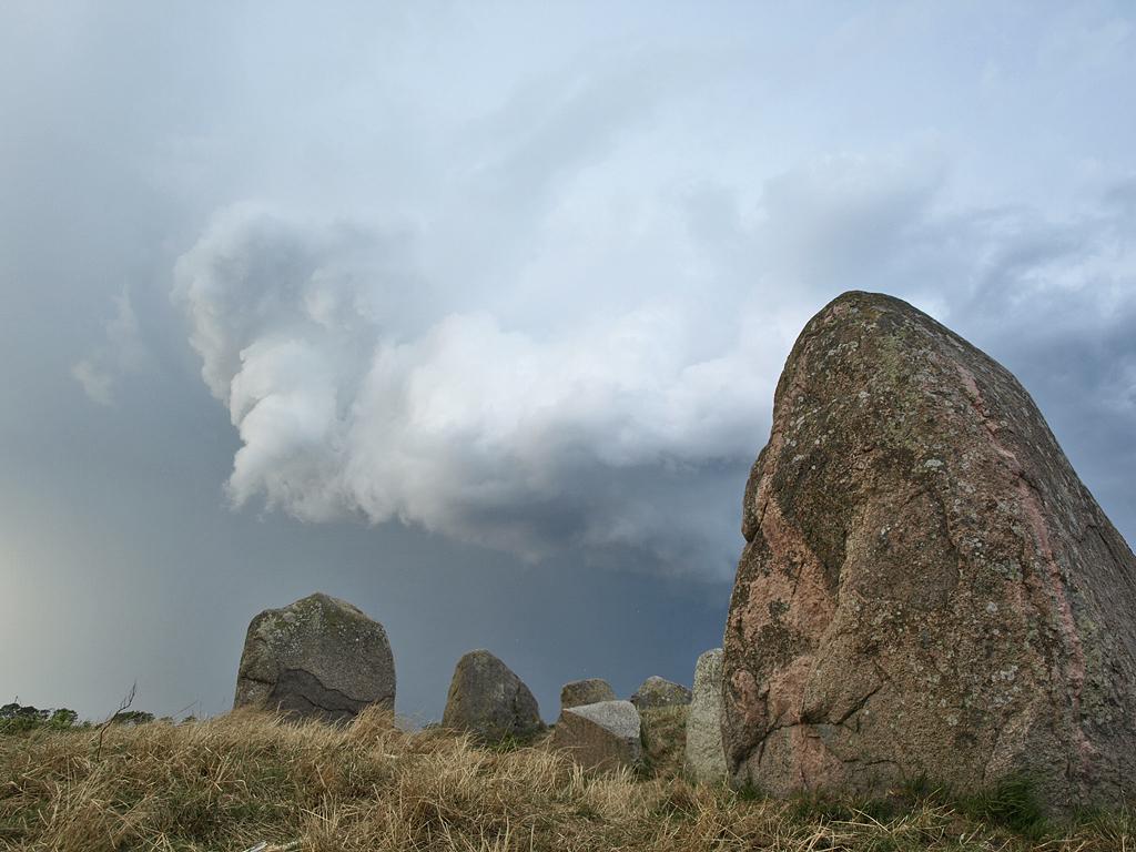 Rügen mit Kindern Großsteingrab
