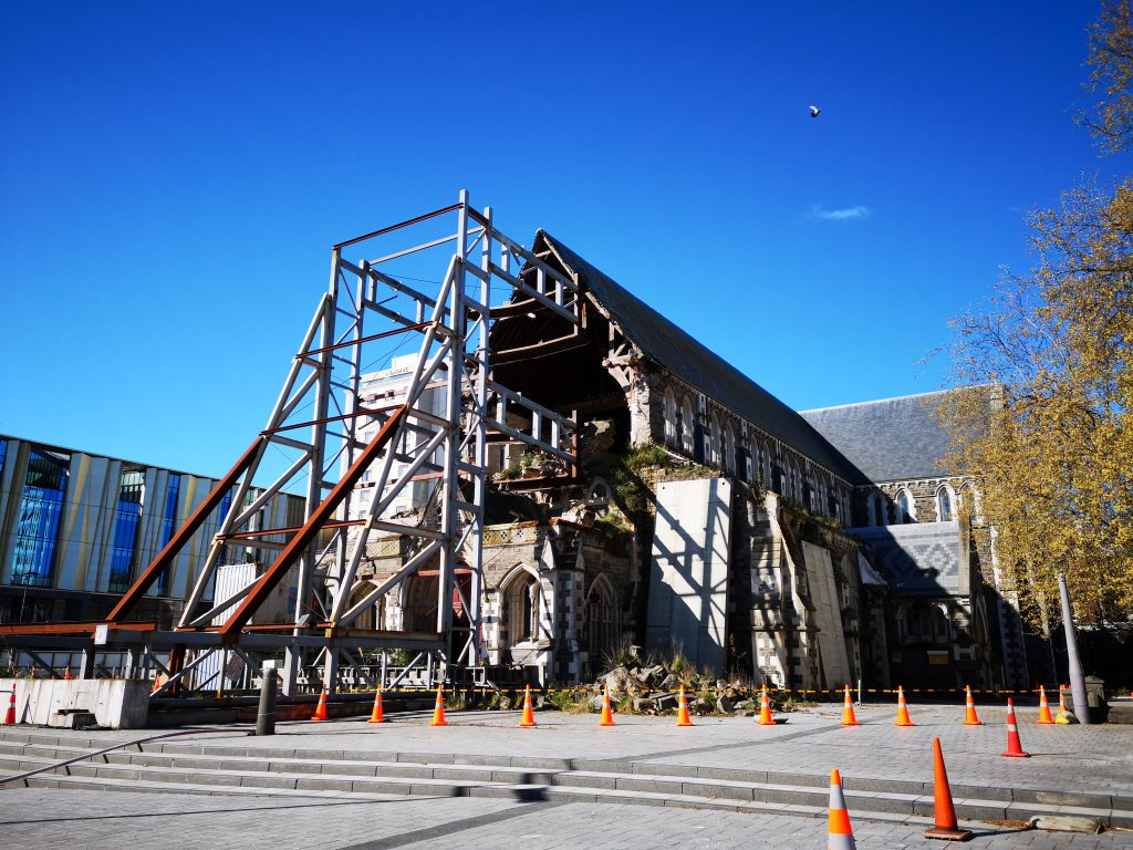 Christchurch Cathedral Ruine
