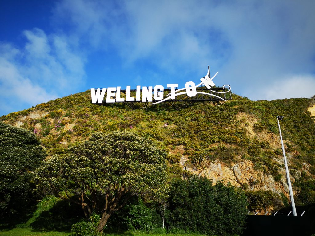 Wellington Sign Neuseeland 2018