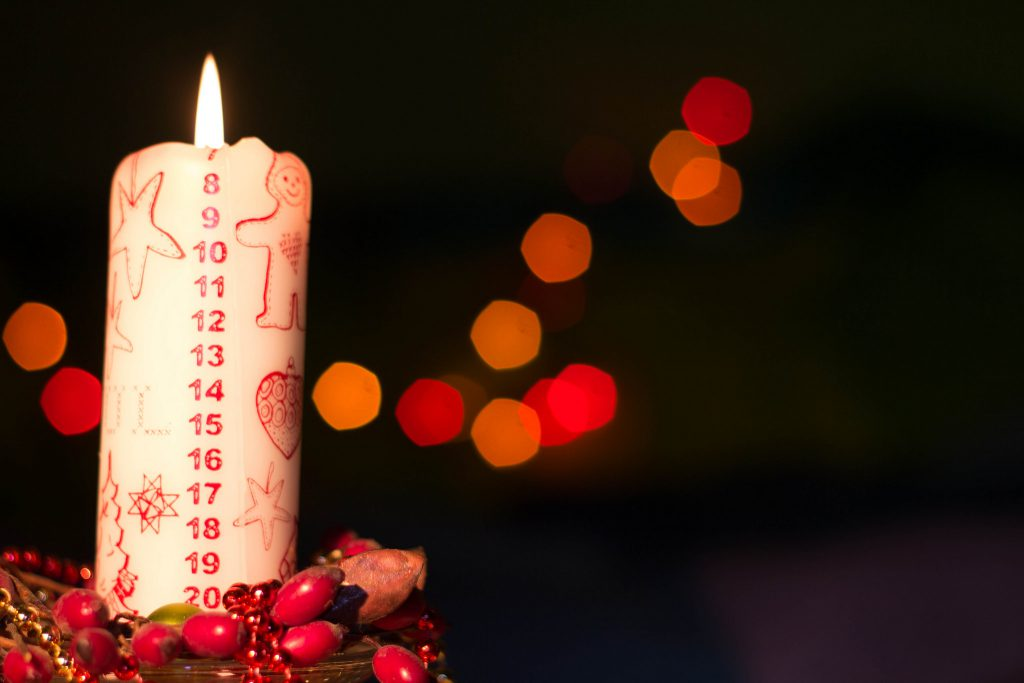 Danish Advent Candle_Albert Chavarria_CC 2.0