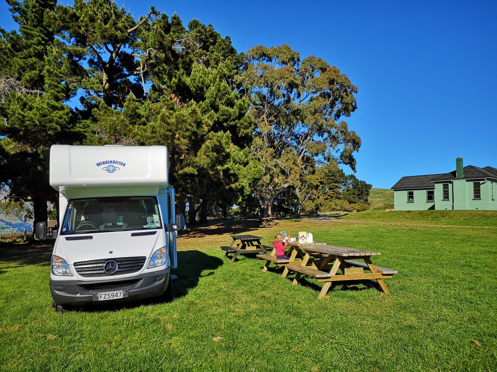 Godley Head DOC Campsite Christchurch