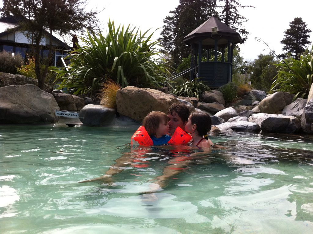 Hanmer Springs Thermal Pools Familie