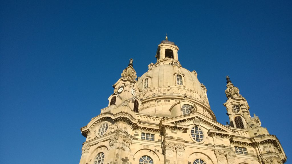 Frauenkirche Dresden Winter