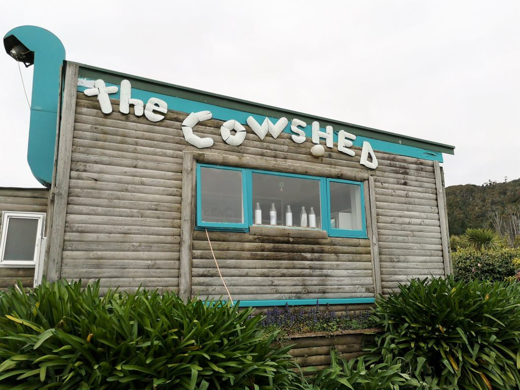 Cowshed Gentle Annie Campsite Westcoast
