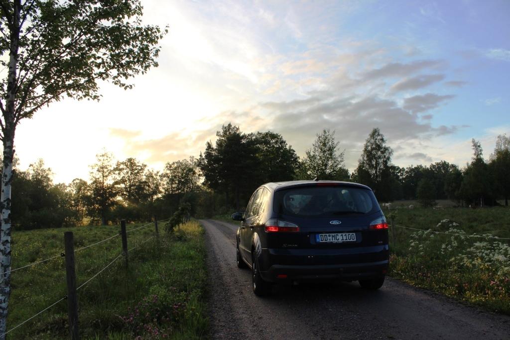 Leben ohne Auto Straße