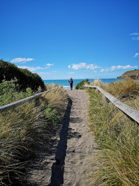 Christchurch Taylors Mistake Beach