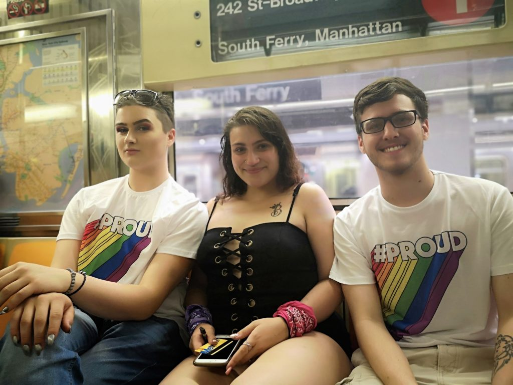New York Pride Parade Metro