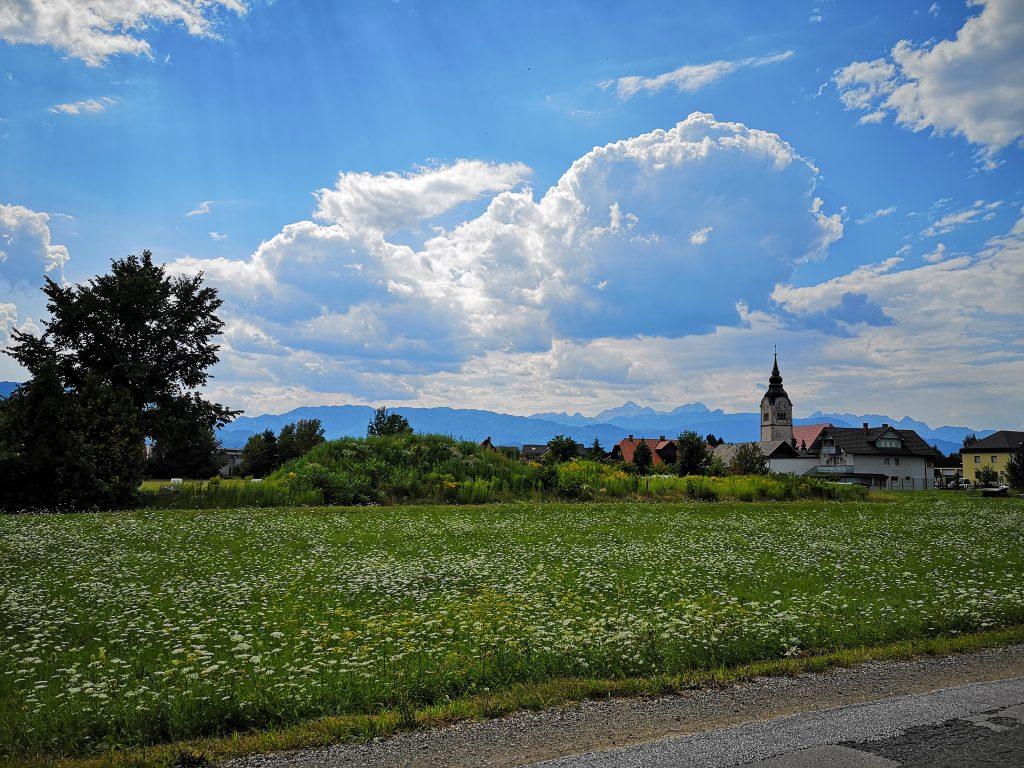 Slowenien Radovljica Feld