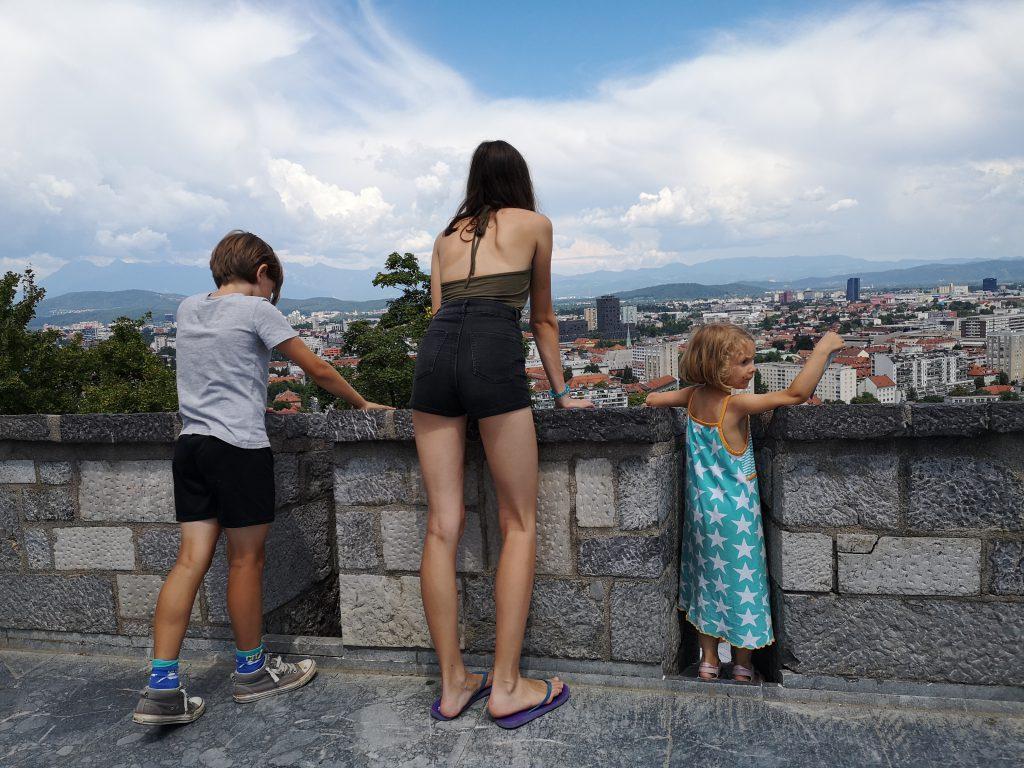 Slowenien Ljubljana Burg