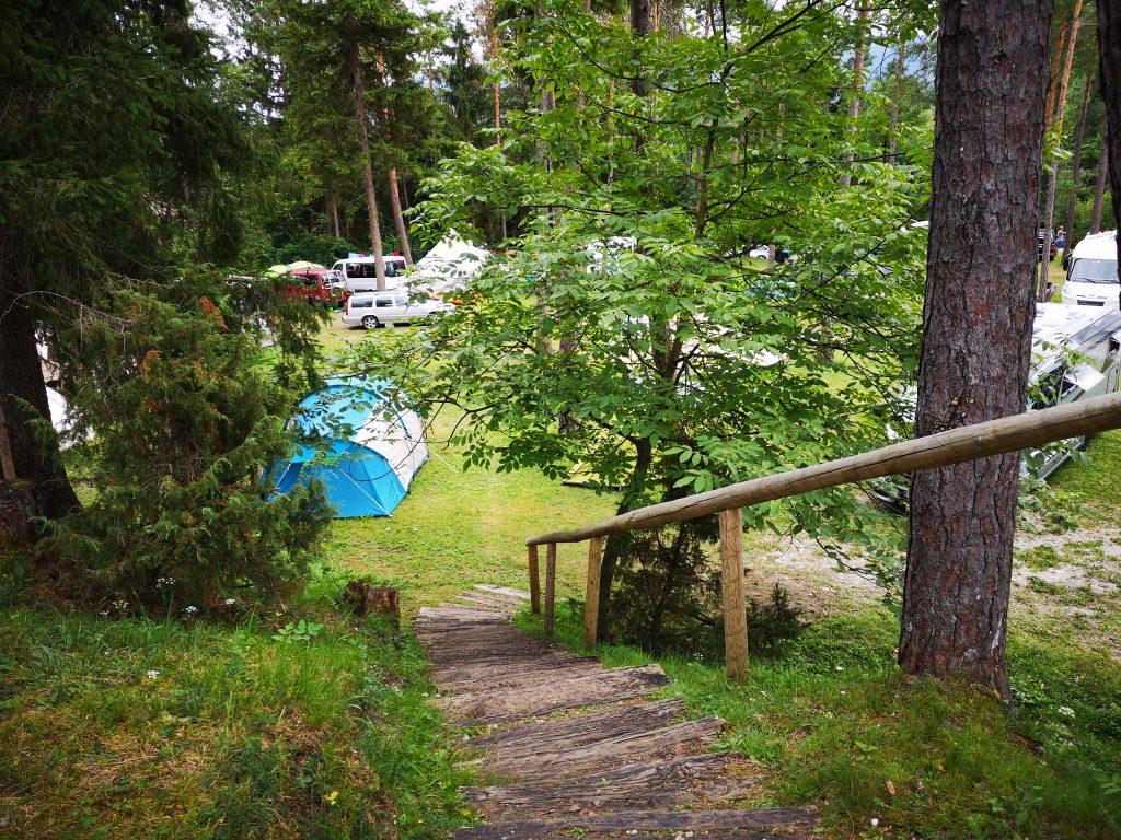 Camp Sobec Slowenien