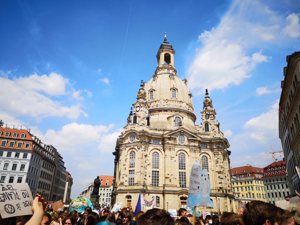 Fridays for Future Frauenkirche