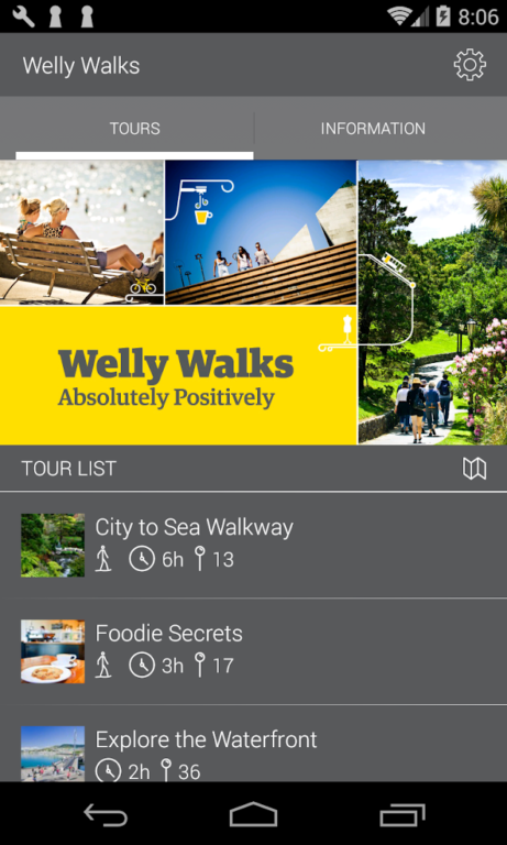 Welly Walks App
