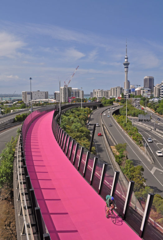 Auckland Pink Cycleway