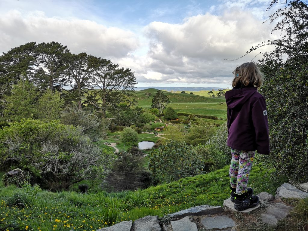 Neuseeland Highlights für Kinder Hobbiton