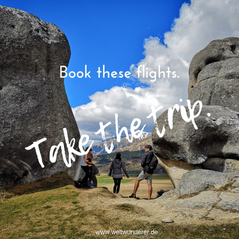 Book these flights. Take the trip