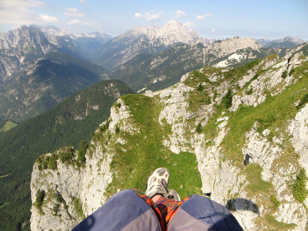 Slowenien Bovec Paragliding