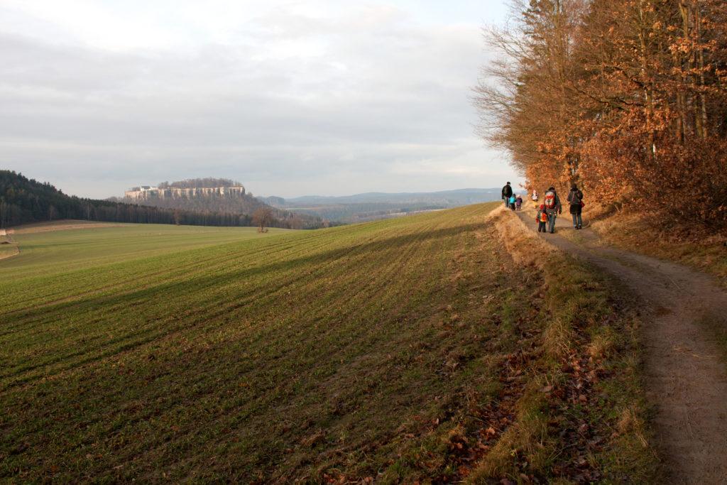 Sächsische Schweiz Herbst Pfaffenstein