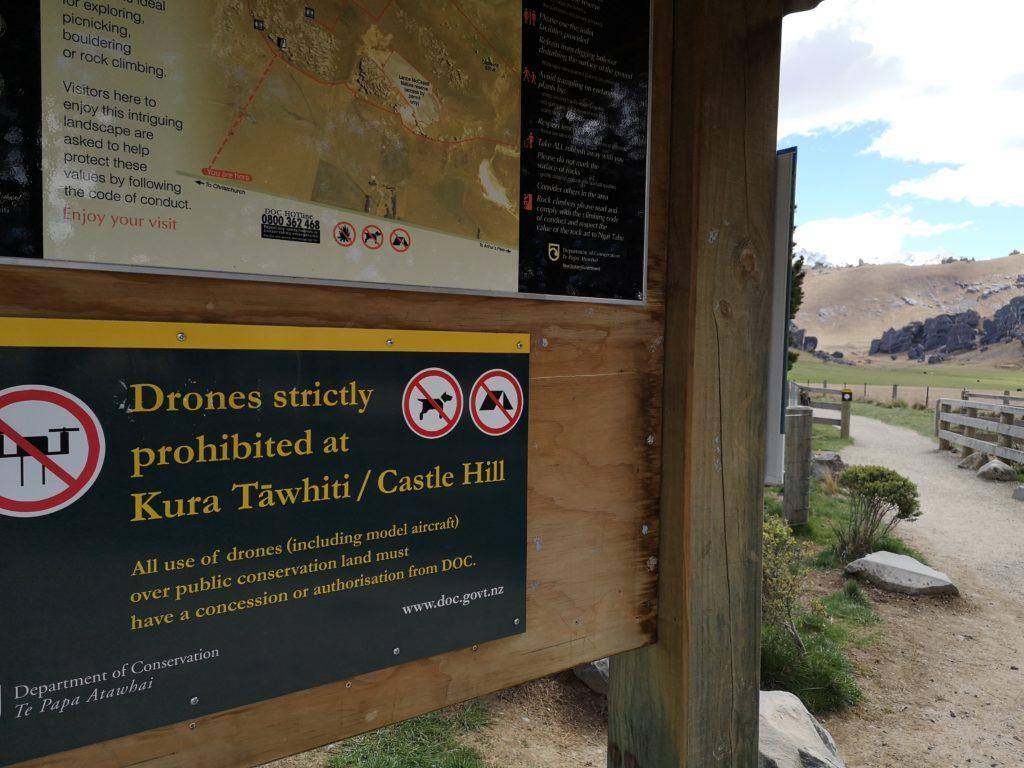 Drohne in Neuseeland