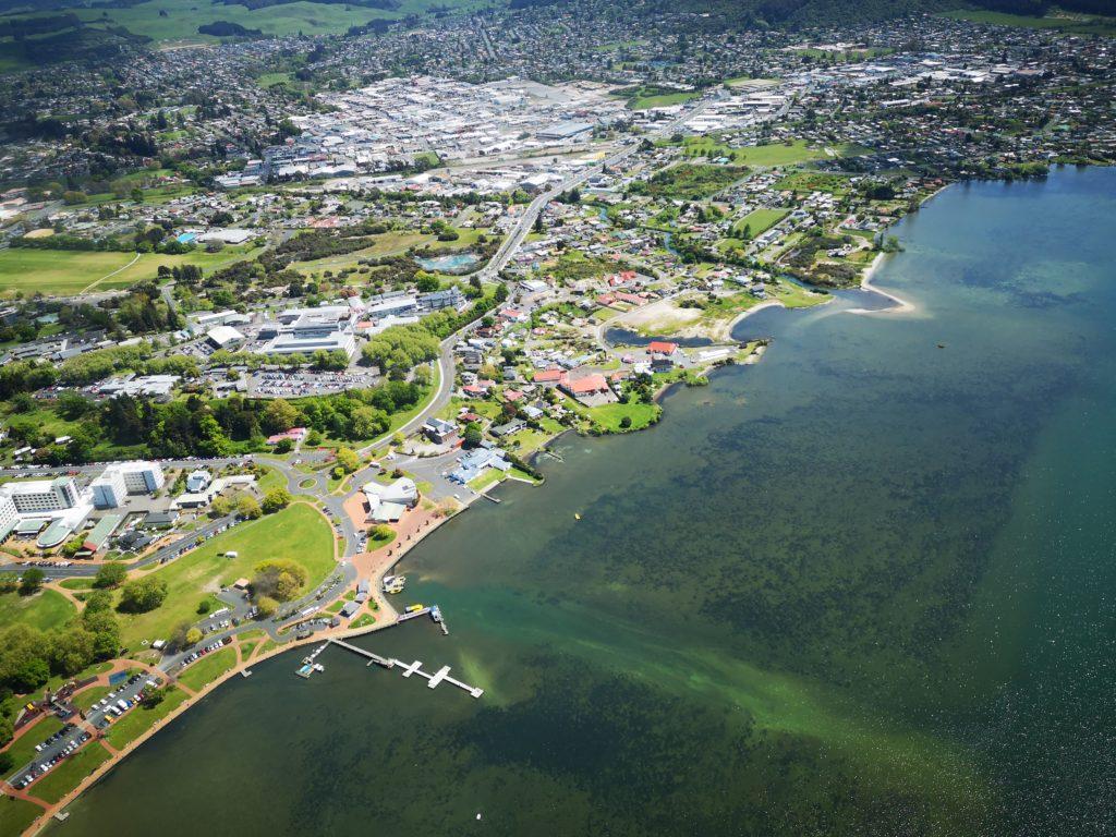 Rotorua Rundflug
